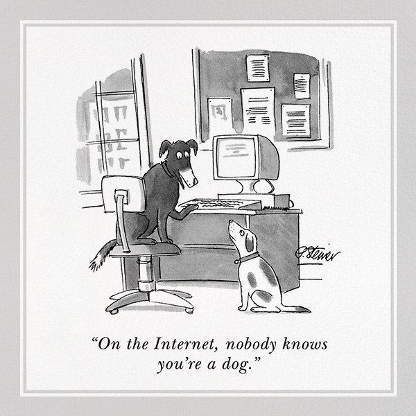 Computer Dog - The New Yorker - Just because
