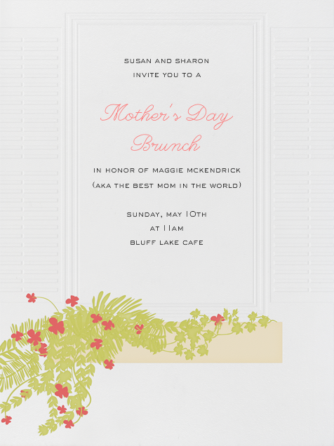 Flower Box  - Paperless Post - Mother's Day