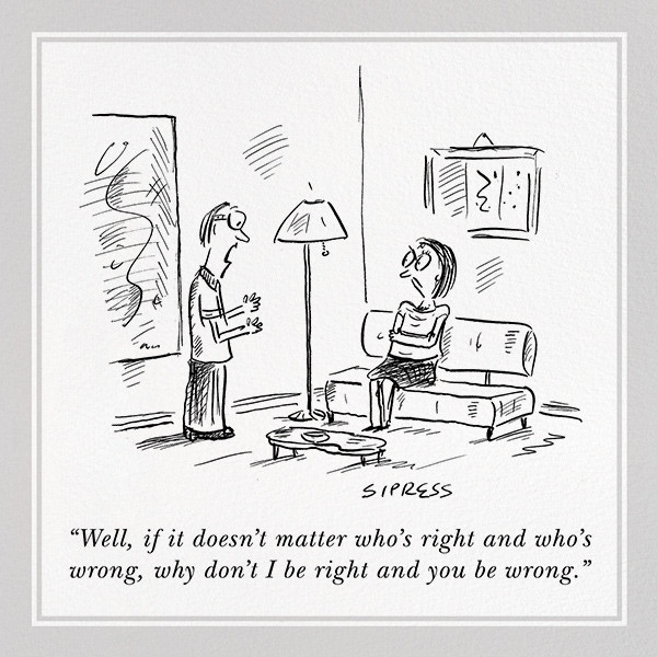 Right and Wrong - The New Yorker - Anniversary