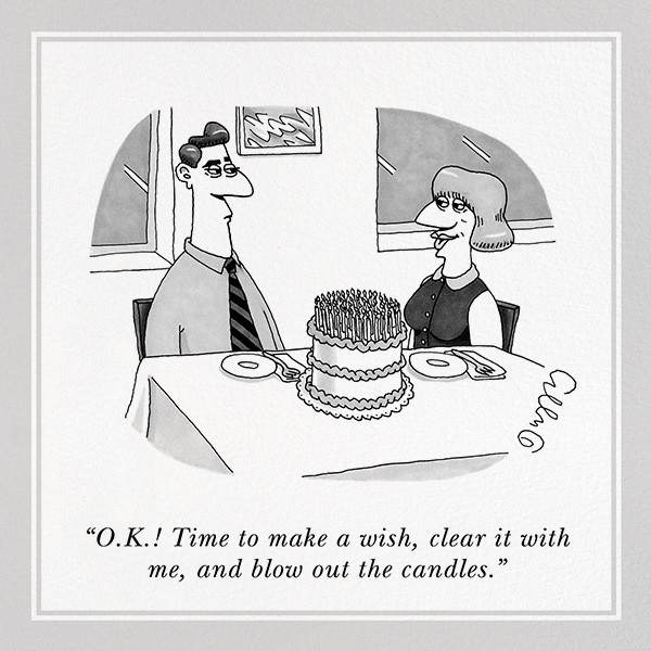 Clear It With Me - The New Yorker - Funny birthday eCards