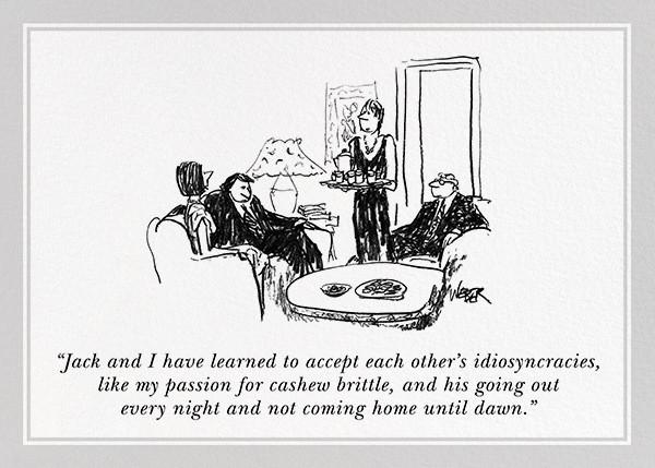 Idiosyncrasies - The New Yorker - Anniversary