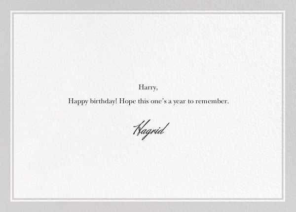 Birthday Security - The New Yorker - Funny birthday eCards - card back