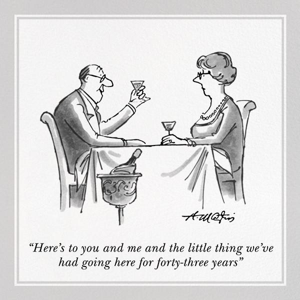 Anniversary Toast - The New Yorker - Anniversary
