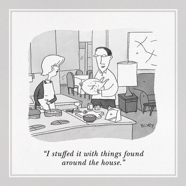 Stuffed Turkey - The New Yorker - Thanksgiving