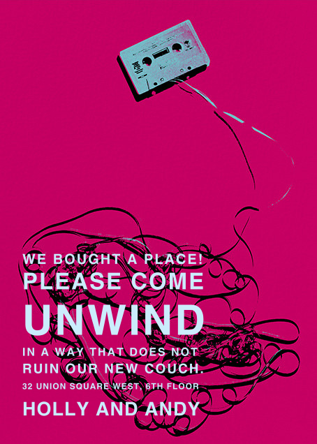 Unwind with Us - Paperless Post - Housewarming