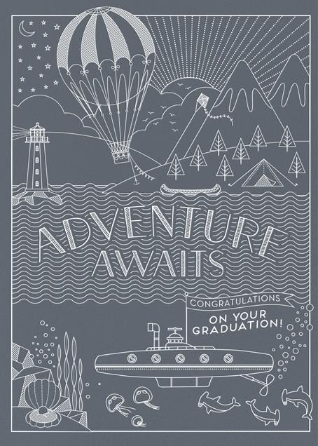 Adventure Awaits - Hello!Lucky - Graduation
