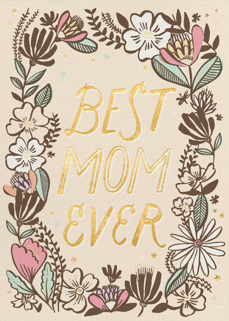 Best Mom Ever - Hello!Lucky - Mother's Day