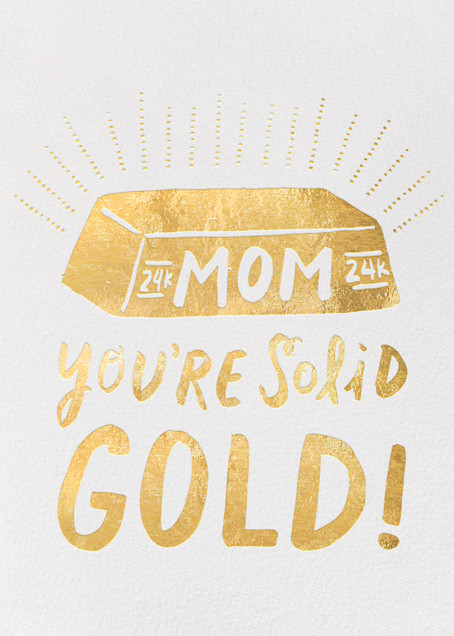 Solid Gold Mom - Hello!Lucky - Mother's Day