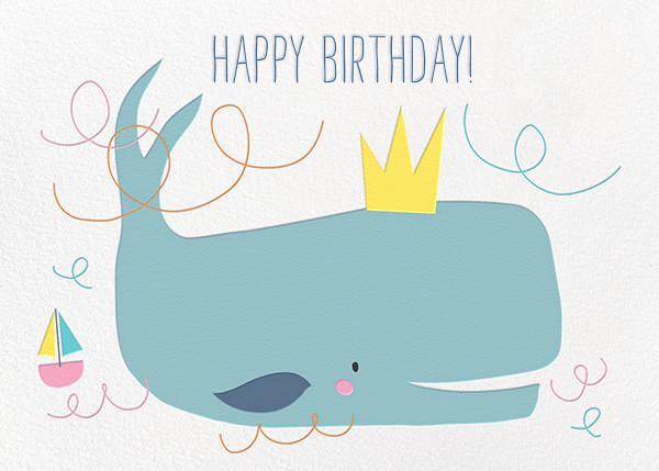 Moby's Splash - Little Cube - Birthday
