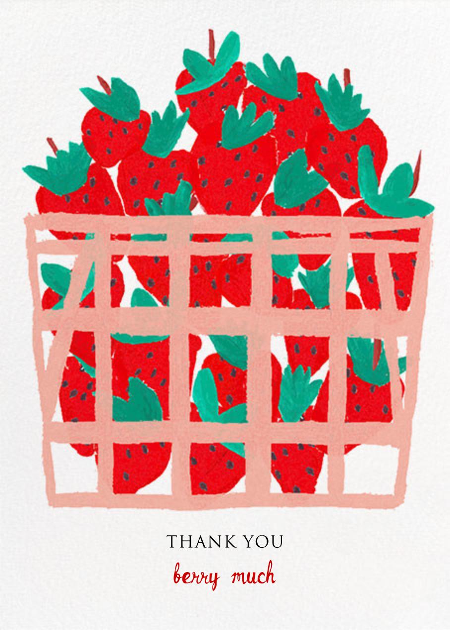 Basket of Berries - Mr. Boddington's Studio