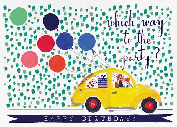 Balloons for the Bug - Mr. Boddington's Studio - Birthday