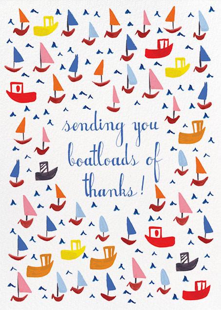 Boatloads - Mr. Boddington's Studio - Thank you