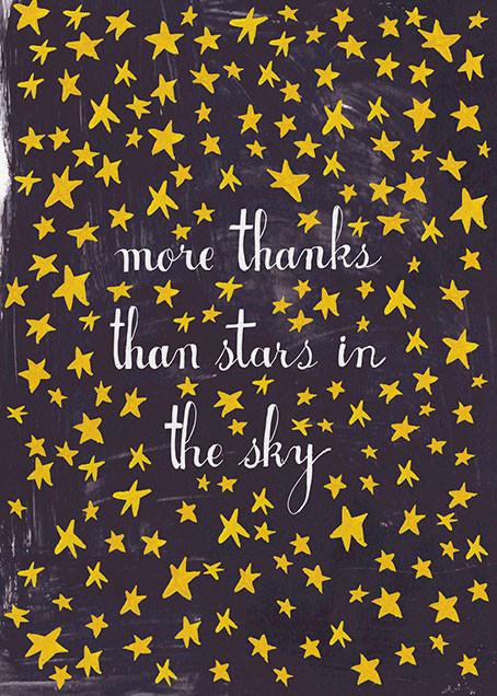 Stars in the Sky - Mr. Boddington's Studio - Thank you