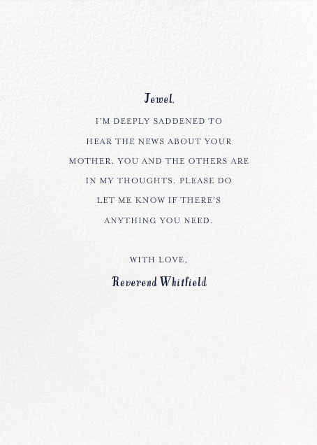 Sympathy Wreath - Mr. Boddington's Studio - Sympathy - card back