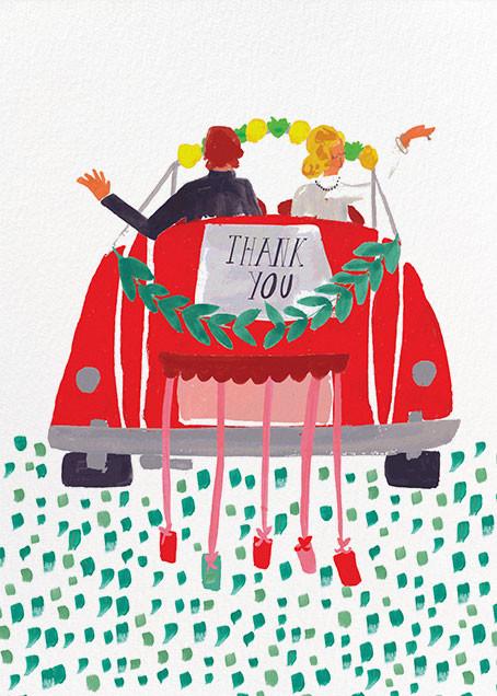 The Newlyweds Car - Mr. Boddington's Studio - Thank you