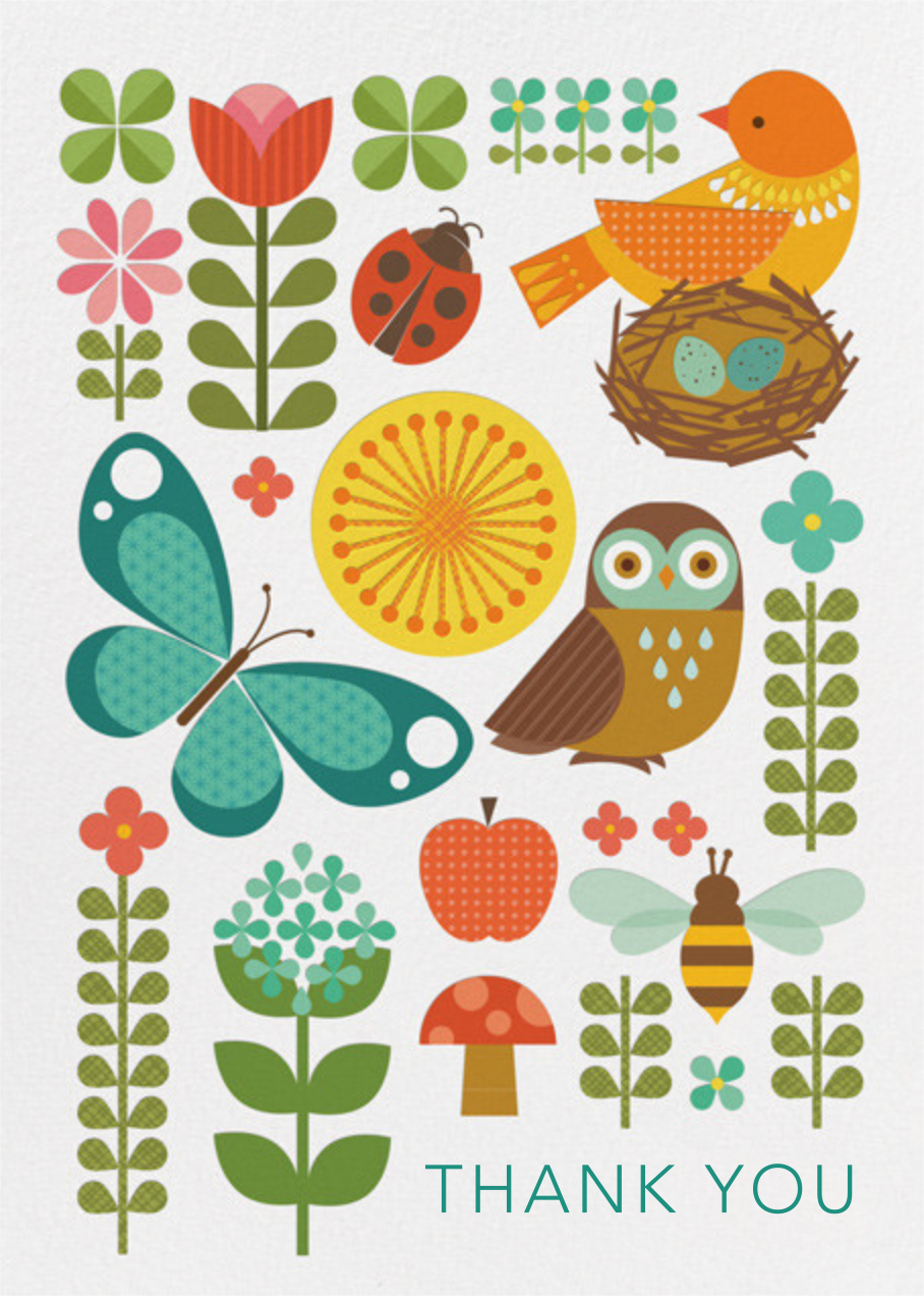 Garden Parade - Petit Collage - Alicia's Test