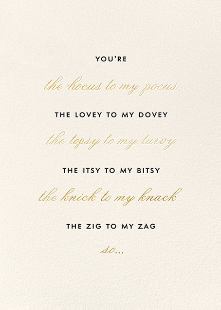 Matron of Honor Request - kate spade new york - Wedding party requests