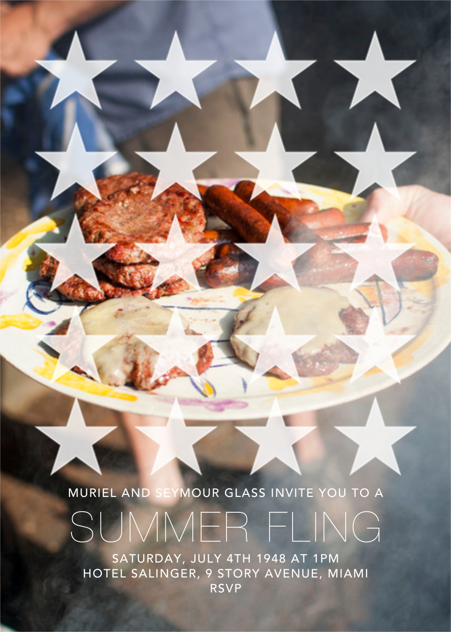 Star Spangles (Photo) - Paperless Post - 4th of July
