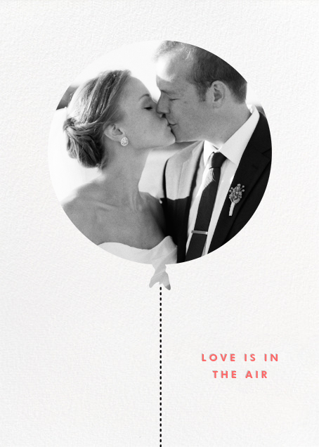 Love Is in the Air (Photo) - kate spade new york - Wedding
