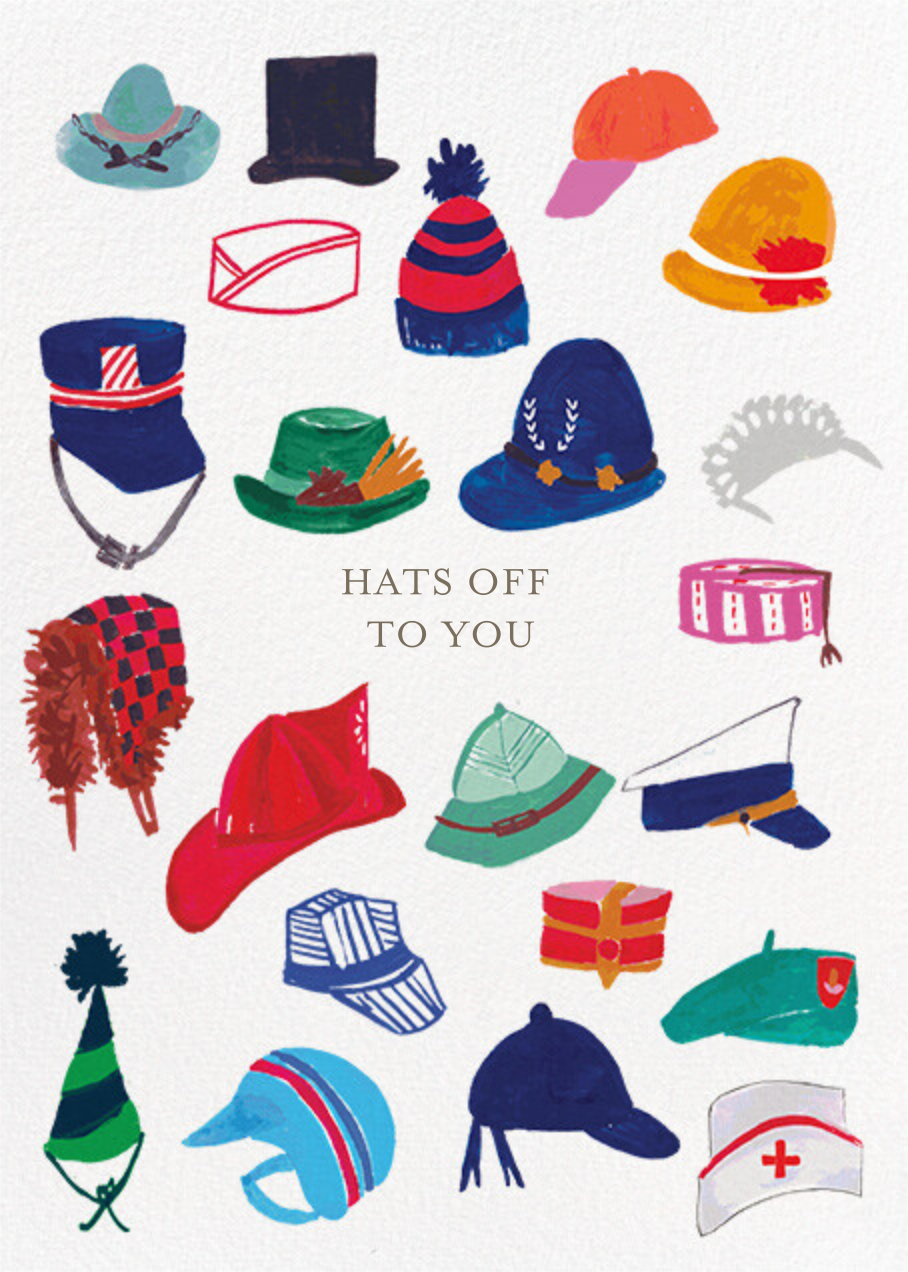 Hats Off - Mr. Boddington's Studio - Congratulations