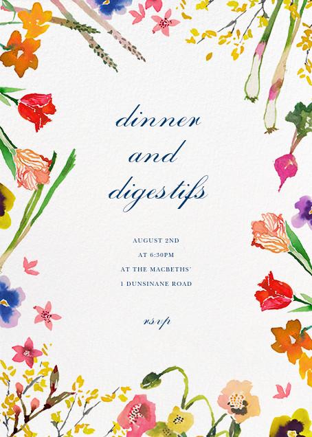 Spring Market - Happy Menocal - Dinner party