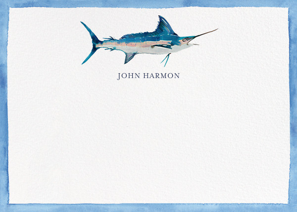 Great Marlin - Happy Menocal - Personalized stationery