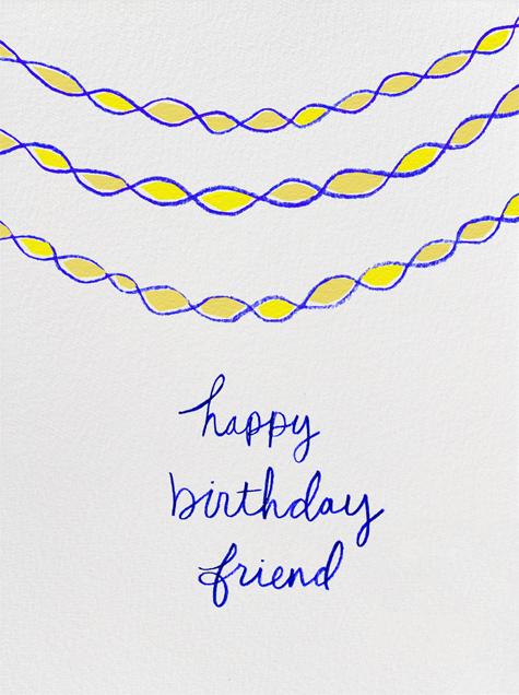 Happy Birthday Friend - Linda and Harriett