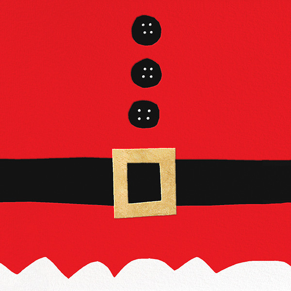 Ho Ho Ho Santa Belt (Greeting) - kate spade new york - Christmas