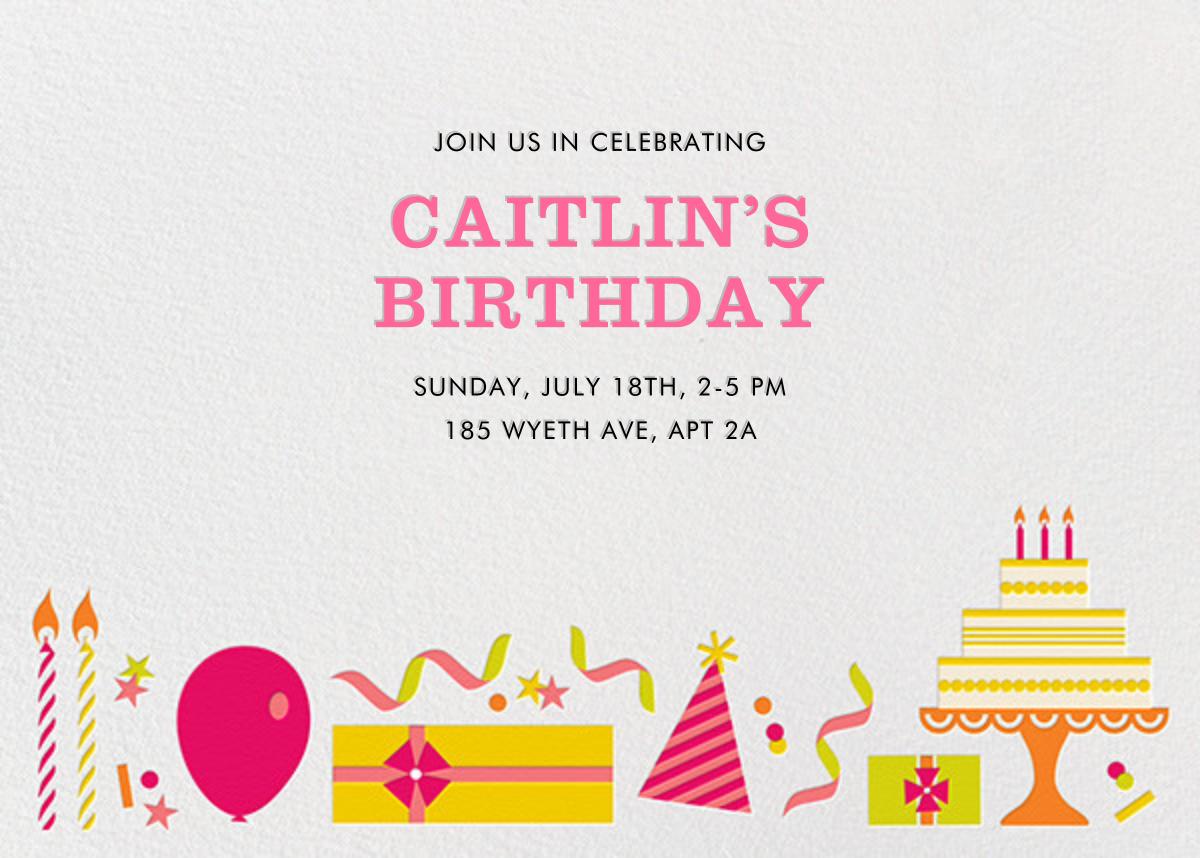 Birthday Soiree - Pink and Yellow - Jonathan Adler - Adult birthday