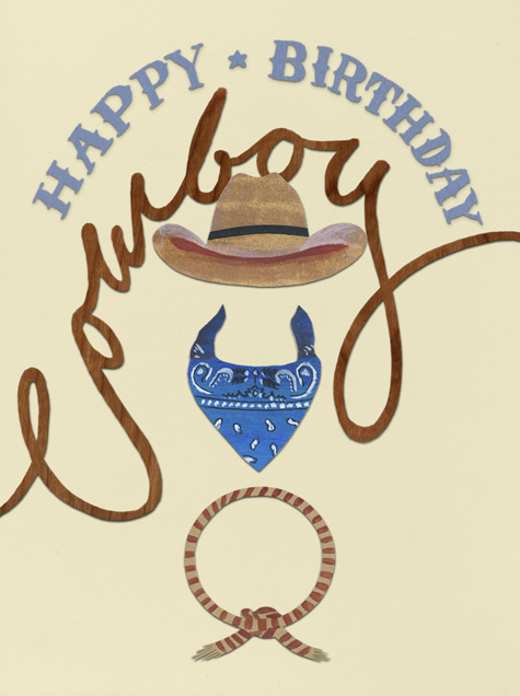 Happy Birthday Cowboy - Paperless Post - Free birthday eCards
