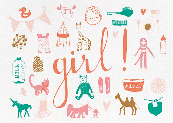 Girl Girl Girl! - Mr. Boddington's Studio - Congratulations