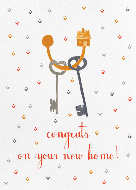 Keys to Your Castle - Mr. Boddington's Studio - Congratulations