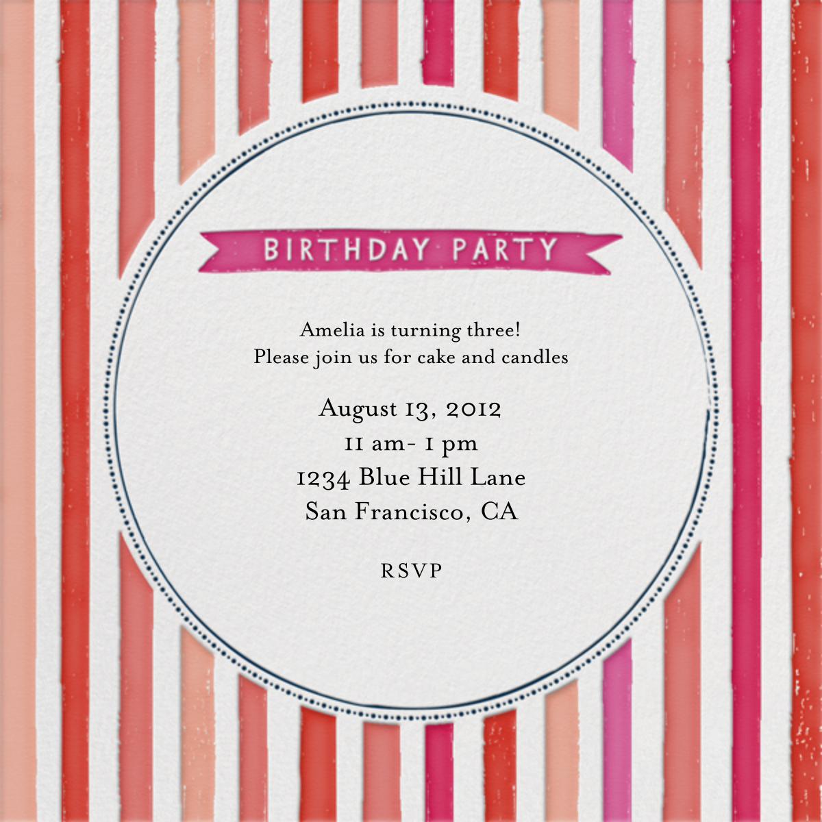 Chocolate or Vanilla Ice Cream - Pinks - Mr. Boddington's Studio - Kids' birthday