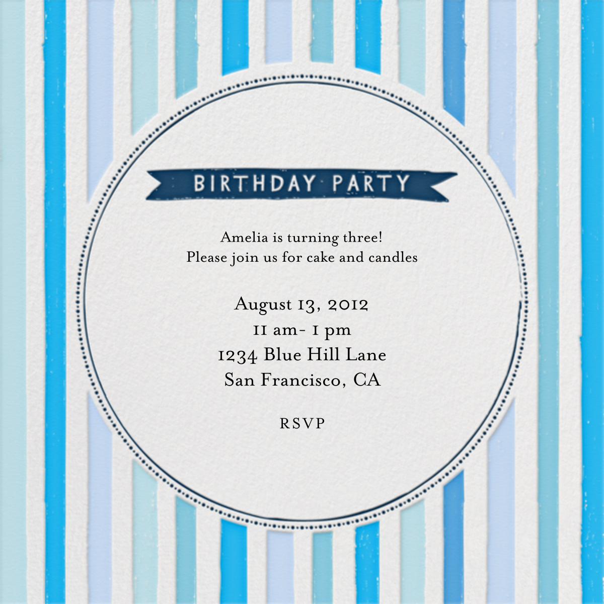 Chocolate or Vanilla Ice Cream - Blues - Mr. Boddington's Studio - Kids' birthday