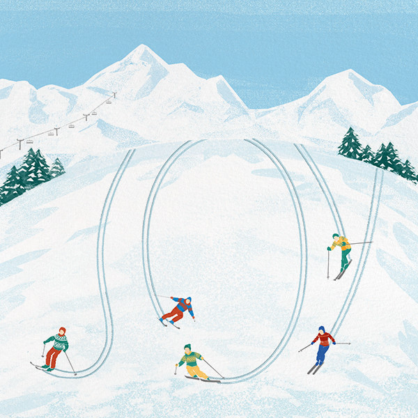 The Joy of Skiing - Paperless Post