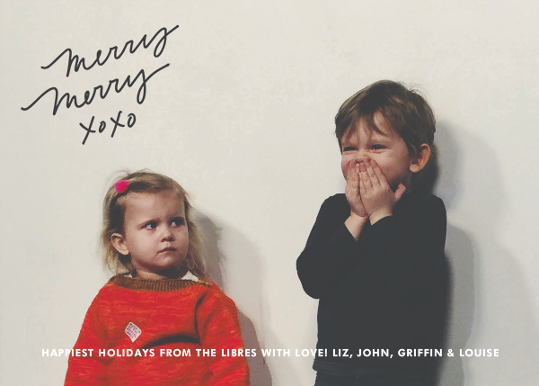 Merry Merry XOXO - Slate - Linda and Harriett - Holiday Favorites