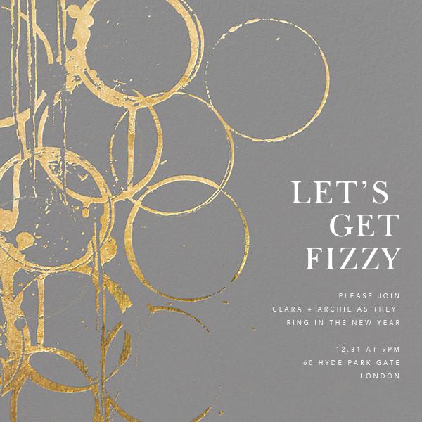 Bottle Shock - Gray/Gold - Kelly Wearstler - New Year's Eve
