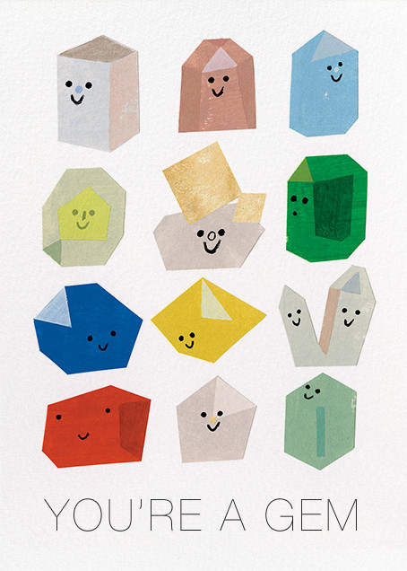 Gem Buddies (Christian Robinson) - Red Cap Cards - Love cards