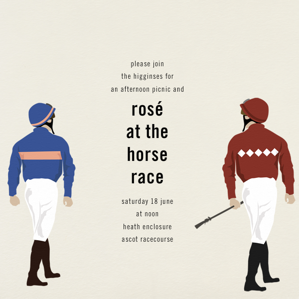 Jockey - Paperless Post - Sports