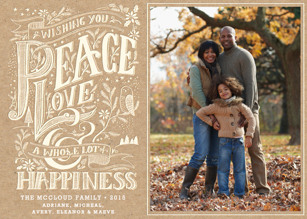 Whole Lot of Happiness - Craft - Hello!Lucky - Holiday cards