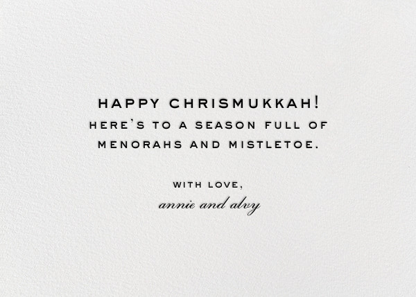 Best of Both Worlds (Photo) - Paperless Post - Hanukkah - card back