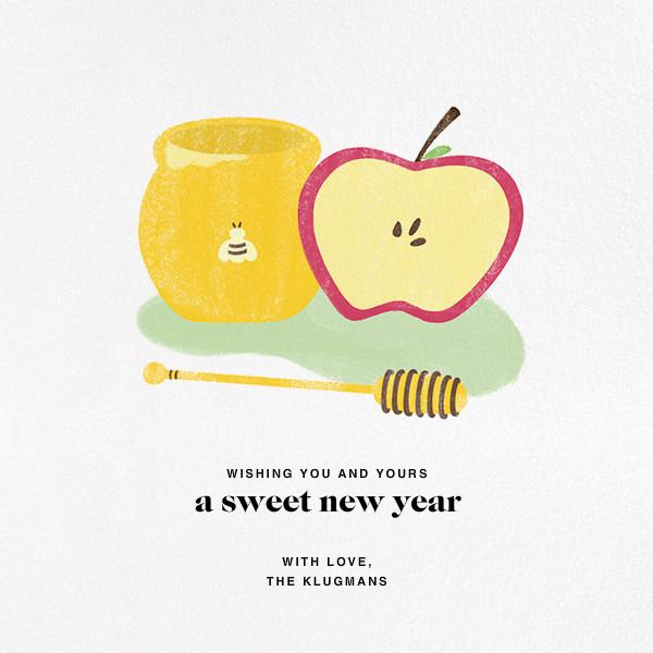 Sweet New Year (Greeting) - Paperless Post - Rosh Hashanah