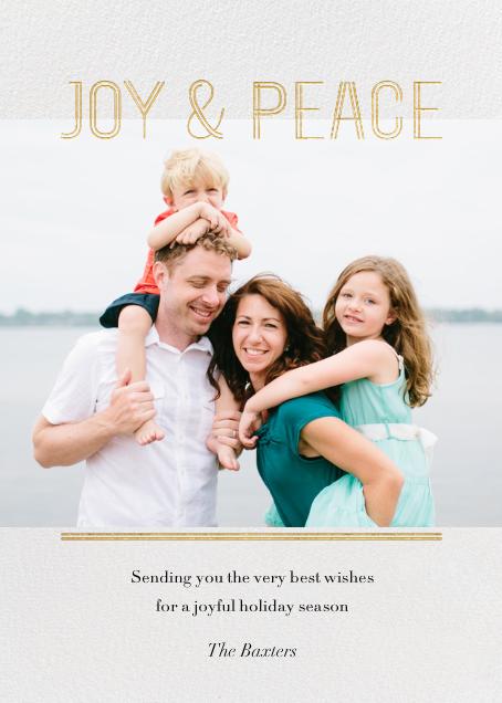 Doubleline Joy  - Paperless Post - null