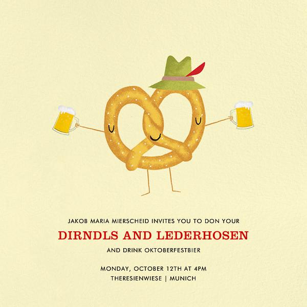 München Munchies - Paperless Post - Autumn entertaining
