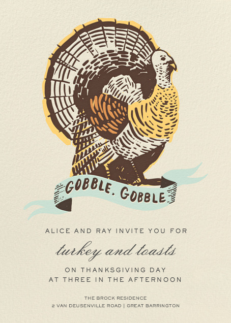 Party Fowl - Hello!Lucky - Thanksgiving