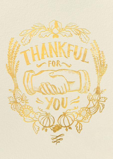 Thankful Shake - Hello!Lucky - Thanksgiving