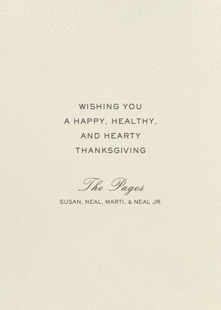 Thankful Shake - Hello!Lucky - Thanksgiving - card back