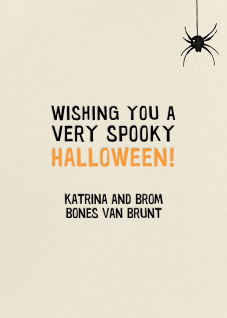 Jeepers Creepers (Greeting) - Hello!Lucky - Halloween - card back