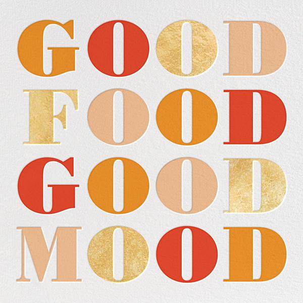 Good Food Good Mood - kate spade new york - Thanksgiving