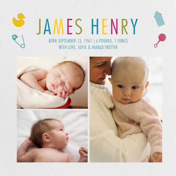 Newborn News - Paperless Post